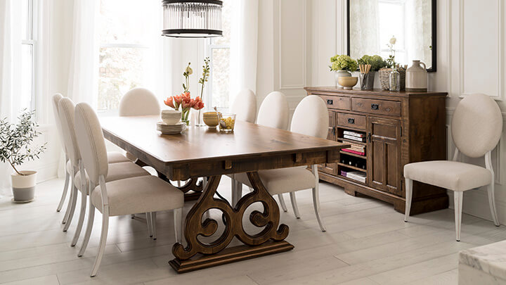 Canadel Champlain Dining Set Front Porch Interiors