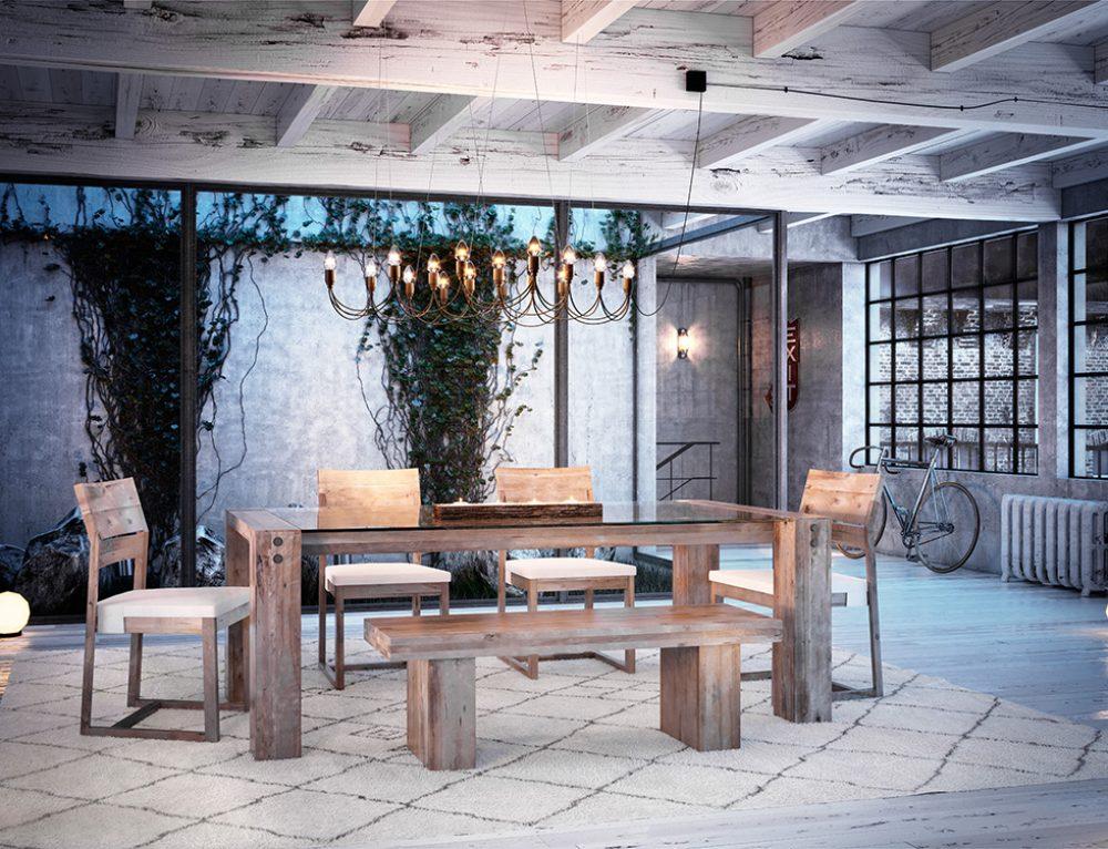 Canadel Loft Dining Set 2